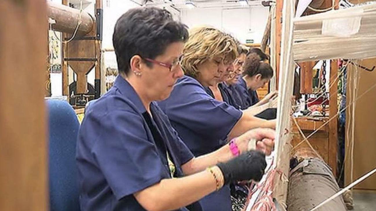 Trabajadores de la Real Fábrica de Tapices