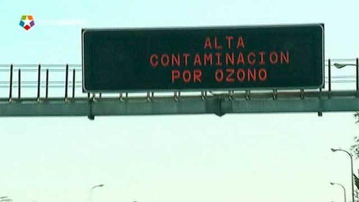 Diez estaciones de la Comunidad y nueve de la capital superan los niveles de ozono