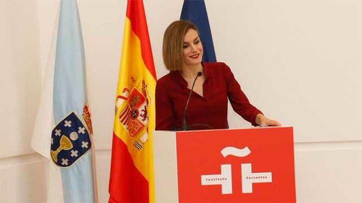 La Reina elogia al Instituto Cervantes por su labor con las lenguas de España