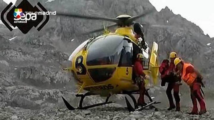 Rescatados 5 menores y un adulto de un grupo scout de Madrid heridos en Picos Europa