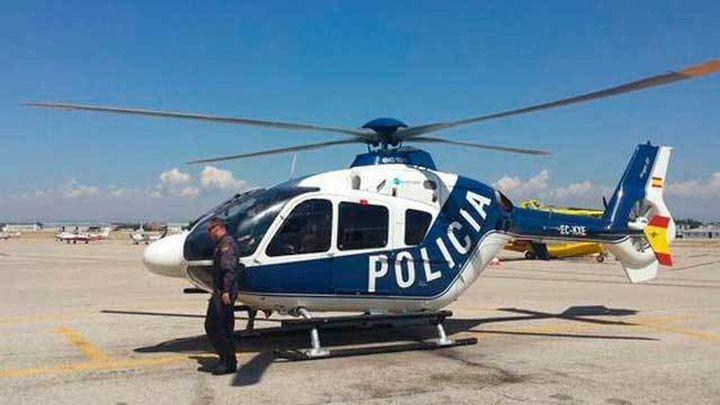Cosidó presenta tres nuevos helicópteros de la Policía