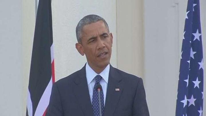 """Obama insta a los africanos a rebelarse contra """"el cáncer de la corrupción"""""""