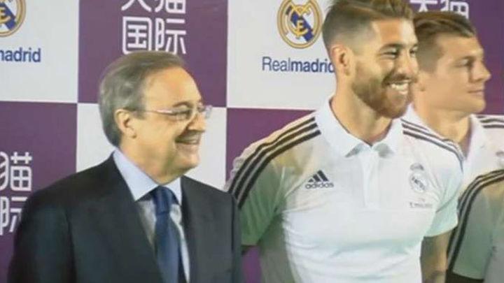 """Benítez: """"He hablado con el presidente y Ramos, los dos son optimistas"""""""