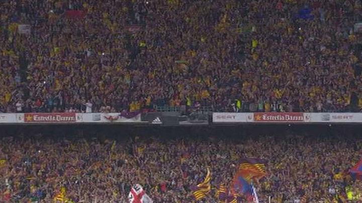 La Generalitat considera inadmisible la propuesta de sanciones por la pitada al himno
