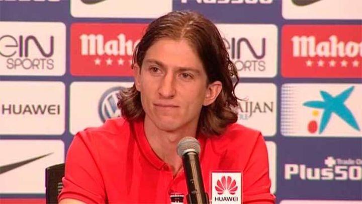 """Filipe Luis: """"A la afición no me la voy a ganar con palabras"""""""