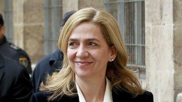 La Audiencia rebaja la fianza de la infanta Cristina de 2,6 millones a 449.525 euros