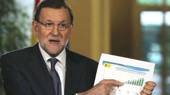 """Rajoy: """"La recuperación es innegable y gana fuerza día a día"""""""