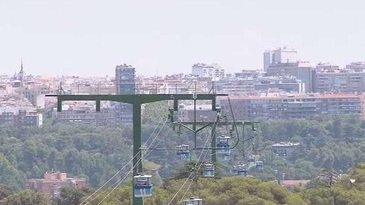 El teleférico de Madrid cierra de forma indefinida para ser revisado a fondo