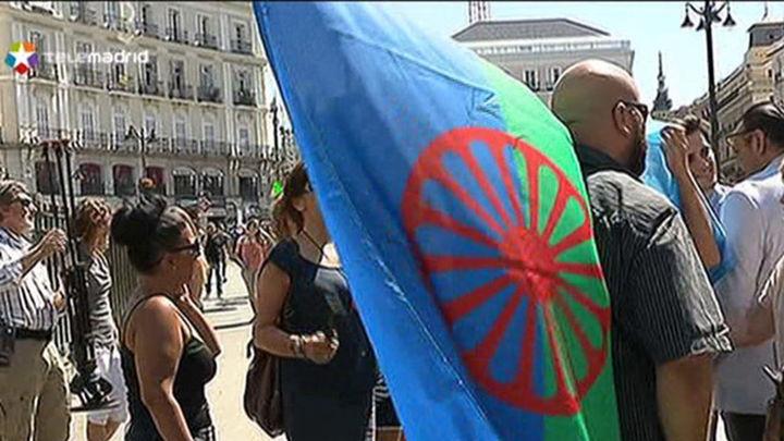 Madrid se suma al recuerdo de las víctimas gitanas del holocausto