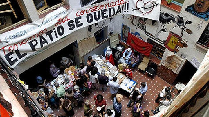Absueltos 19 acusados de okupar la primera sede del Patio Maravillas