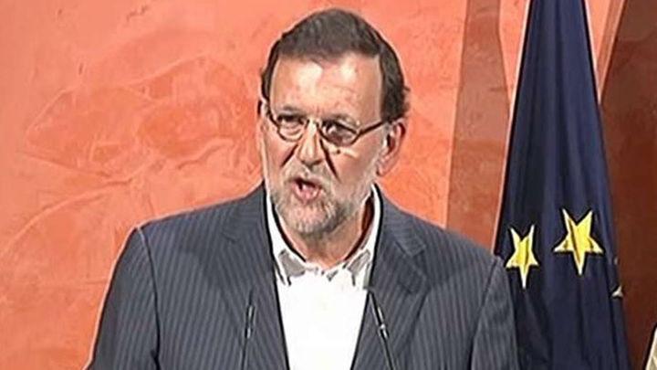"""Rajoy garantiza que el 27S """"nadie va romper España de ninguna de las maneras"""""""