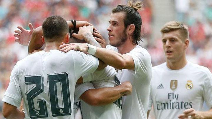 2-0. James y Bale conducen al Madrid a la final de la Audi Cup