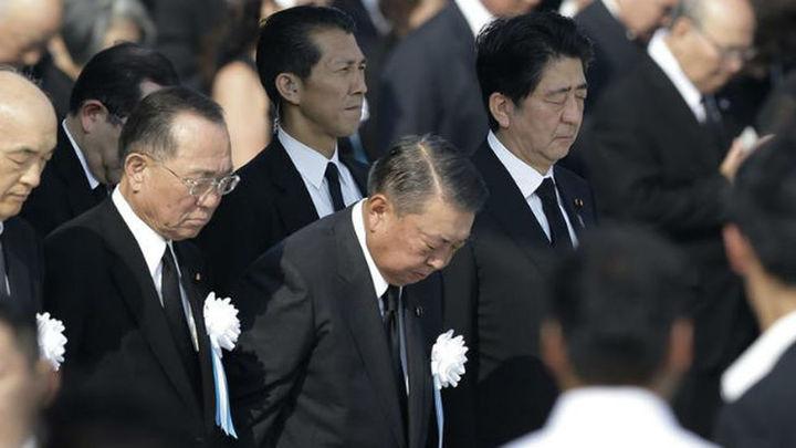 Japón conmemora solemnemente el 70 aniversario del ataque atómico