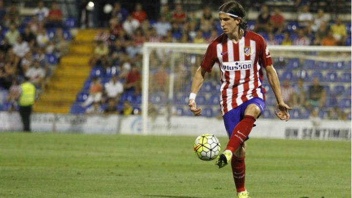 "Filipe: ""Espero poder retirarme en el Atlético de Madrid"""