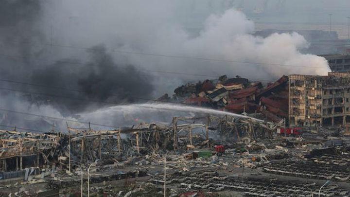 Se registra otra explosión en una fábrica china, 24 horas después del suceso de Tianjin