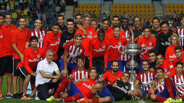3-0. El Atlético de Madrid logra, de cabeza, su décimo trofeo Carranza