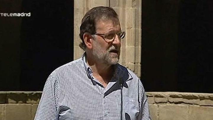 """Rajoy insiste en que """"no es el momento adecuado"""" para reformar Constitución"""