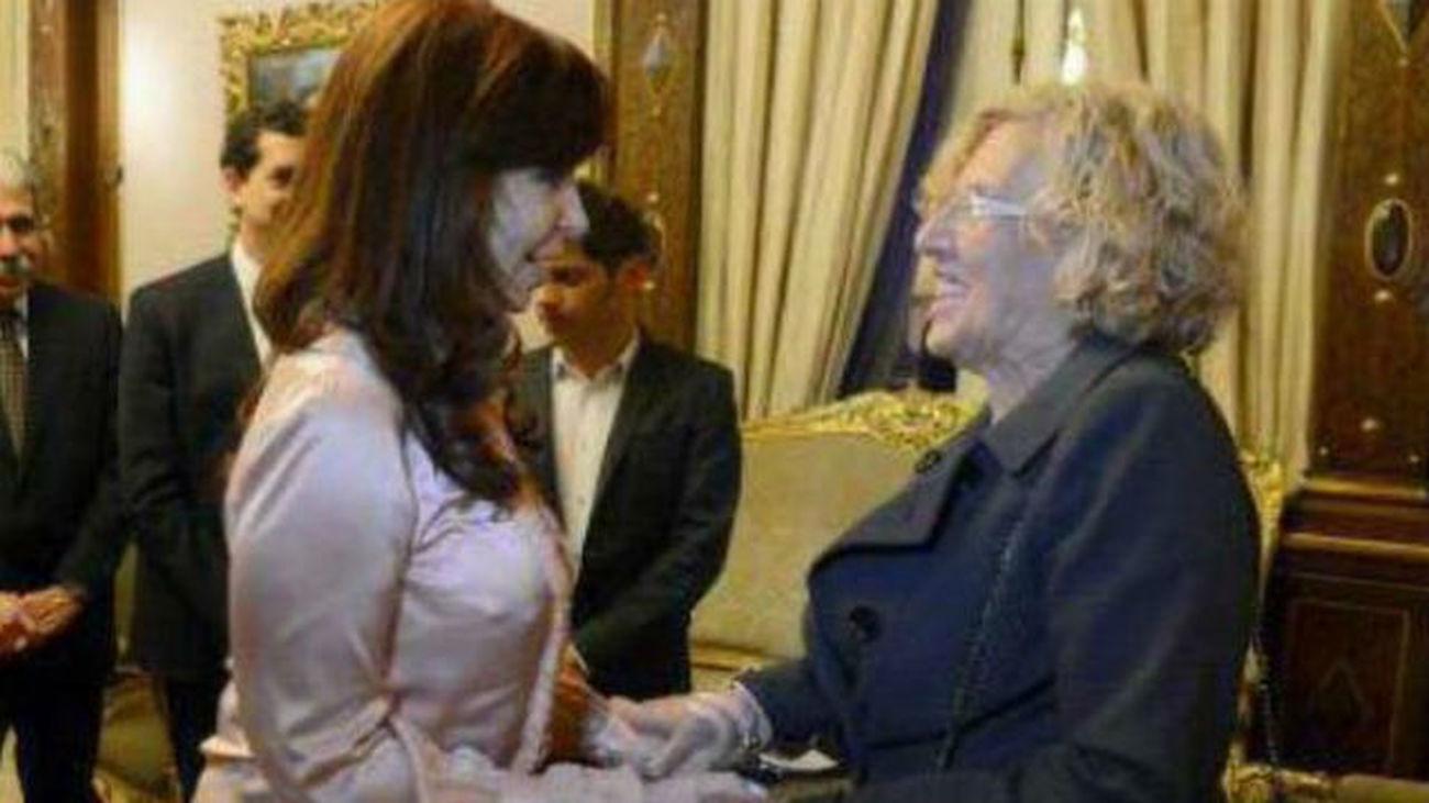 """Maestre sobre el encuentro de Carmena y Cristina Fernández: """"Es cuestión de respeto"""""""