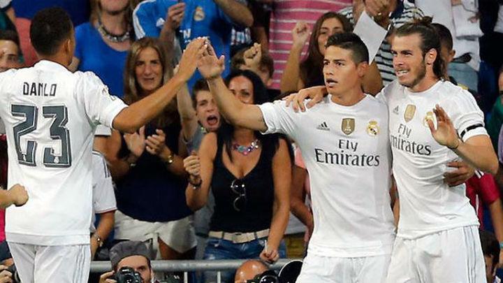 5-0. El Real Madrid apabulla al Betis con exhibición de James