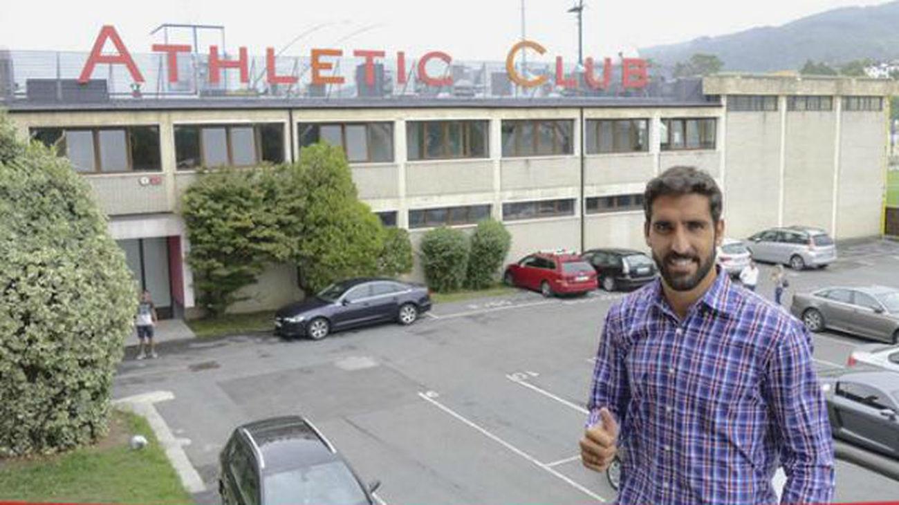 """Raúl García: """"Vengo al Athletic buscando continuidad"""""""