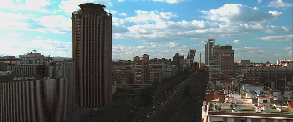 Madrid barrio a barrio, el Madrid financiero, Paseo de la castellana
