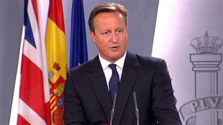 """Cameron: """"Si Cataluña quiere tomar otro camino, debe ajustarse a ley"""""""