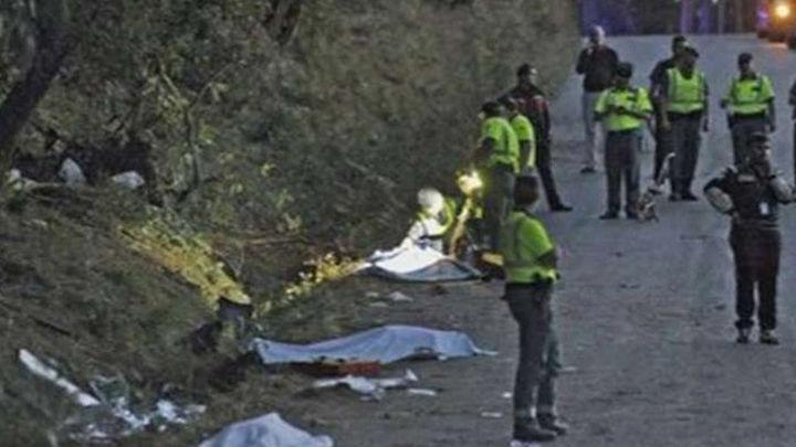 Siete muertos heridos arrollados por un coche en el Rally de La Coruña