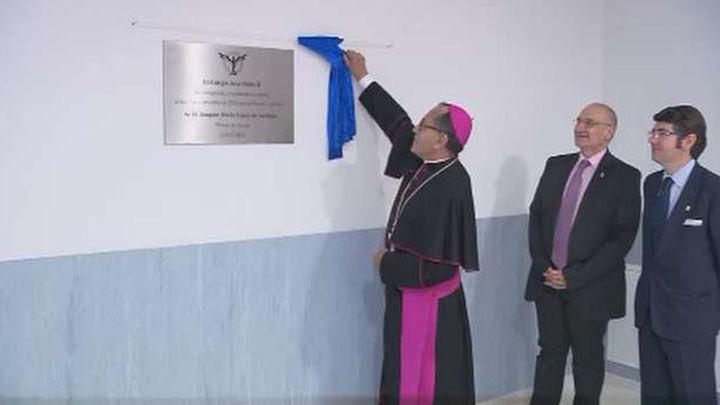 El obispo de Getafe inaugura el colegio católico Juan Pablo II en Parla