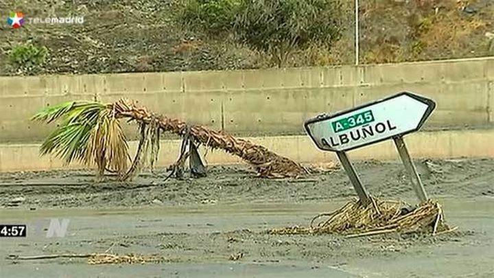 Localizada una tercera víctima mortal por la riada en la costa de Granada