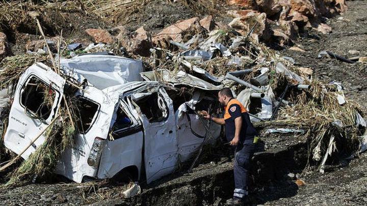 Hallado en el mar el cadáver de la cuarta víctima mortal de la riada de Granada