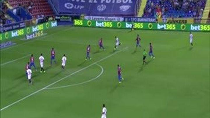 1-1. El Levante y el Sevilla continúan sin conocer la victoria