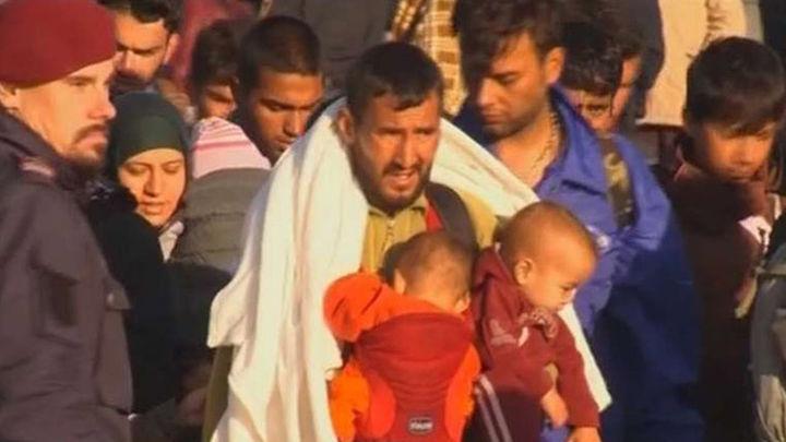 Alemania y Francia anuncian un acuerdo para reubicar a 160.000 refugiados en la UE