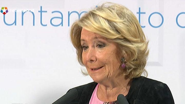 Aguirre propone una bajada generalizada del IBI de 250 euros