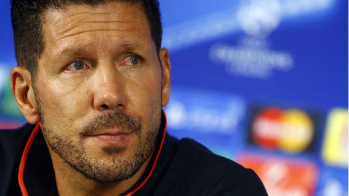 "Simeone: ""Esperemos que la 'Champions' sea larga"""