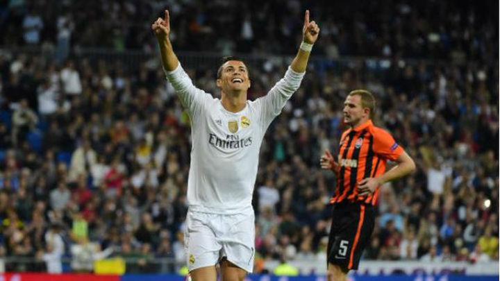 4-0. Cristiano lidera una goleada sin brillo ante el Shakhtar