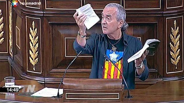 El Congreso no sanciona al diputado Sabino Cuadra a la espera de que rectifique