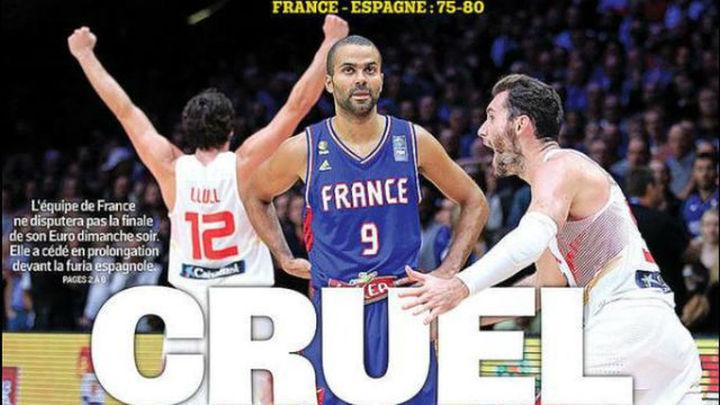 La España enorme de Gasol asalta la portada de 'L'Équipe'