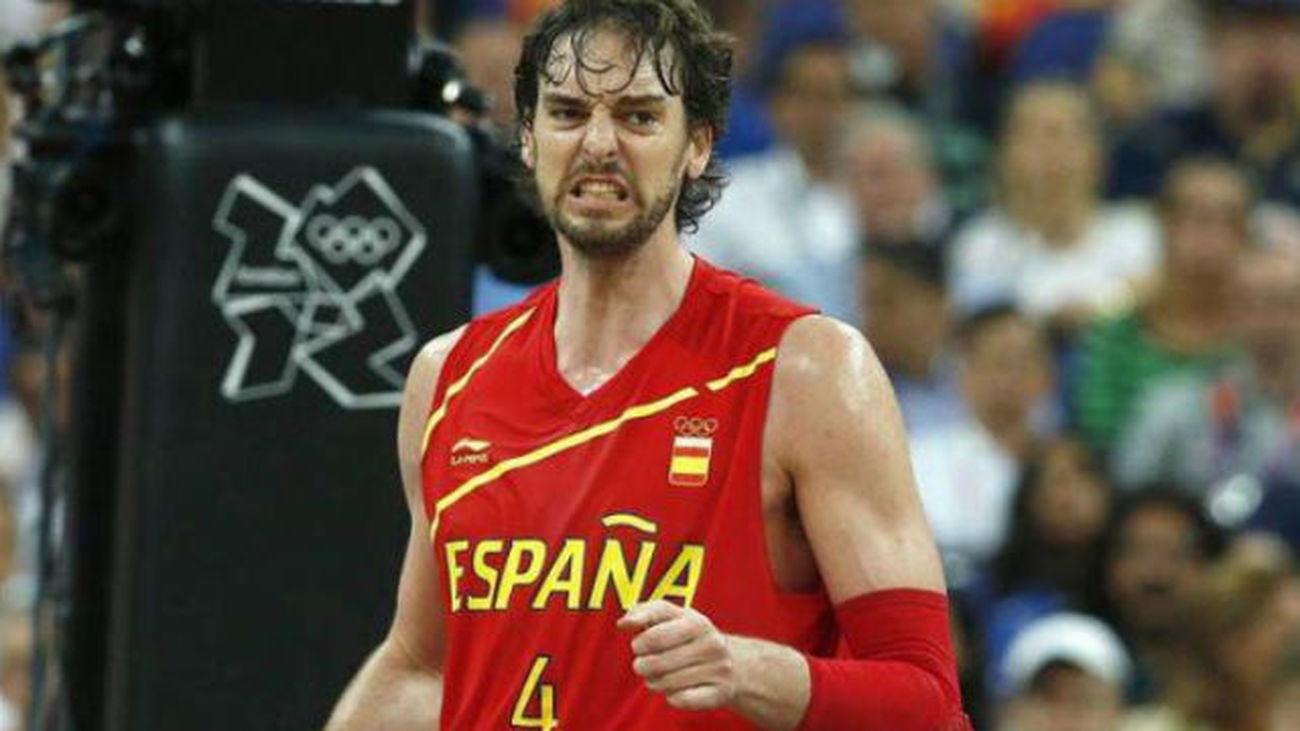 Pau Gasol confirma su participación en el Eurobasket