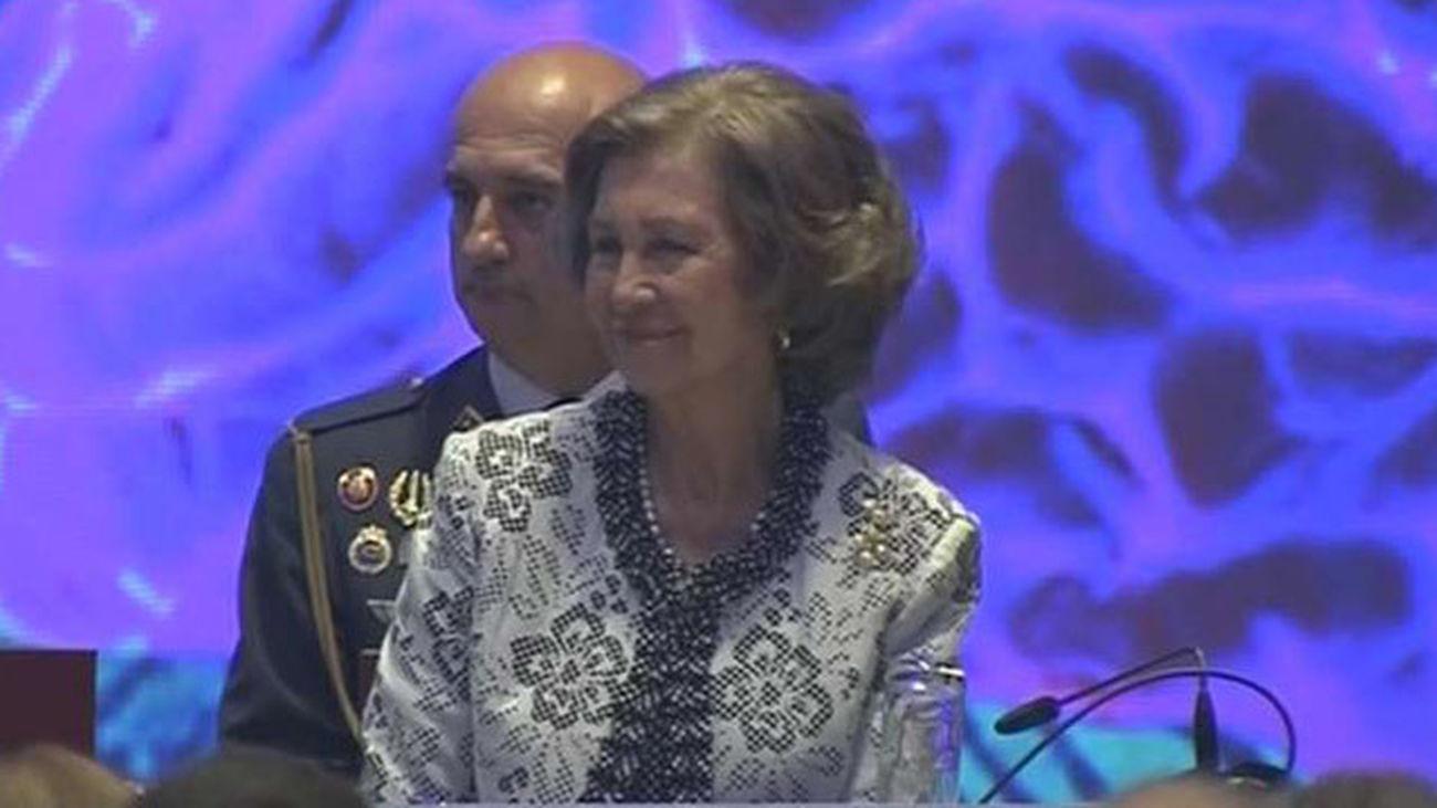 La reina Sofía, propuesta para el Nobel de la Paz por una universidad de EEUU