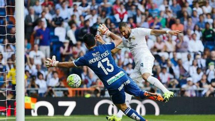 1-0. Benzema y Keylor Navas frenan la grandeza del Granada