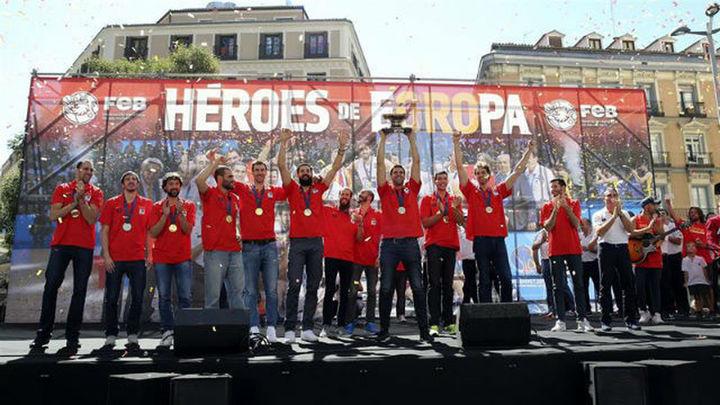 """Los héroes de Europa, en Callao: """"Sin vosotros no habríamos ganado"""""""