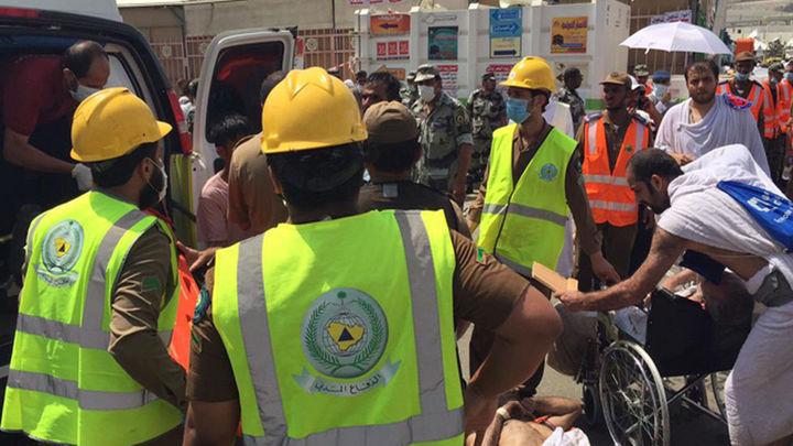 Más de 700 muertos en una estampida en La Meca