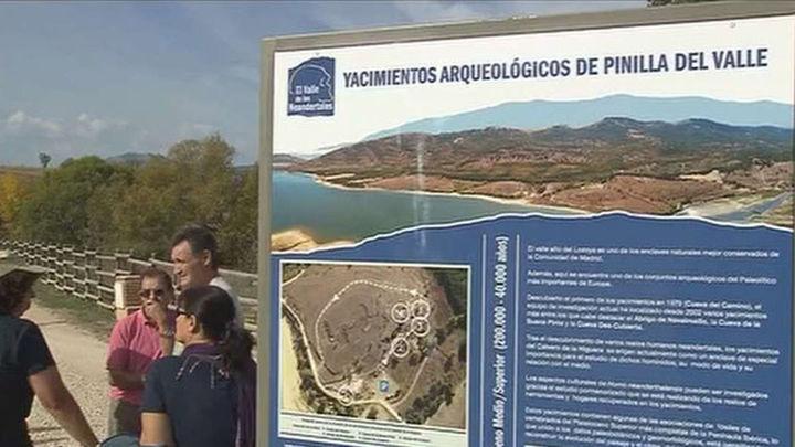 Los madrileños ya pueden visitar el Valle de los Neandertales