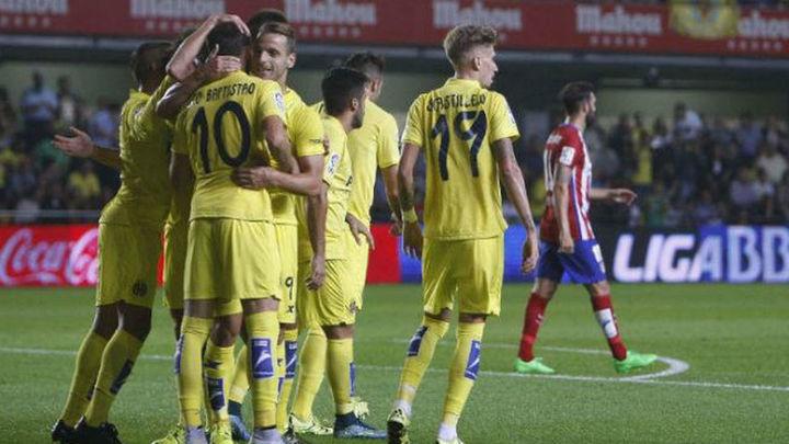 1-0. Baptistao acaba con el Atleti y pone líder al Villarreal