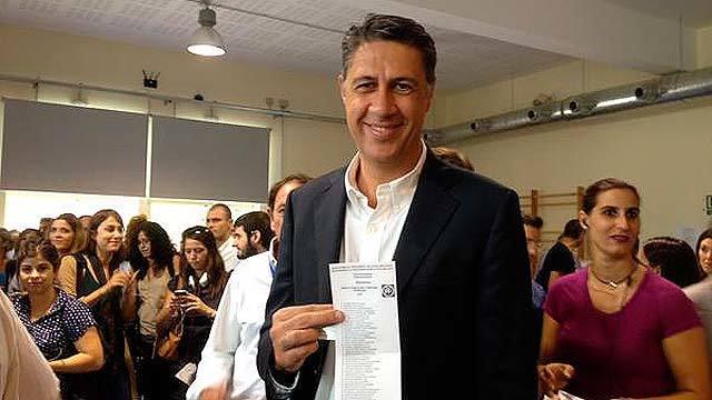 Albiol votó en Badalona