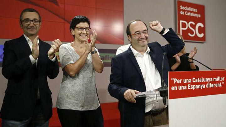 """Iceta ve un """"éxito"""" el resultado del PSC pese a perder cuatro escaños"""
