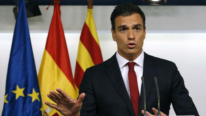 """Pedro Sánchez dice que los independentistas """"han perdido el plebiscito"""""""