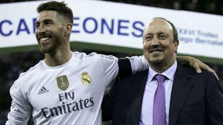 Benítez se explica ante Sergio Ramos