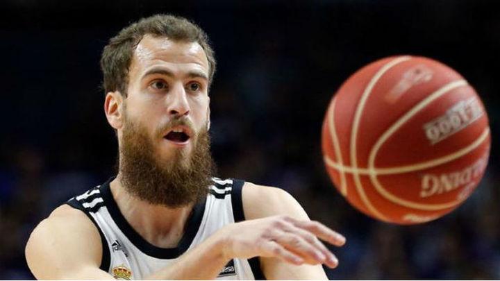 """Sergio Rodríguez: """"Jugar contra un equipo NBA motiva, jugar contra los Celtics aún más"""""""