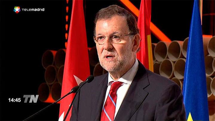"""Rajoy: """"España se ha levantado y está ya entre los grandes del mundo"""""""